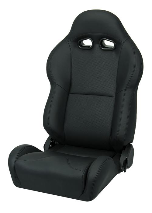 Corbeau VX2000 Black Leather Seat