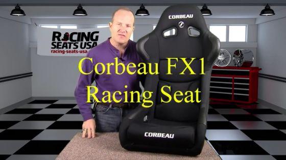 Corbeau FX1 Racing Seat