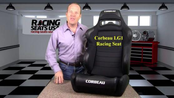Corbeau LG1 Racing Seat