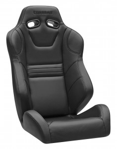 Corbeau SXS Pro Seat Black Vinyl for Polaris RZR