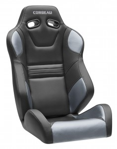 Corbeau SXS Pro Seat Black Vinyl for Arctic Cat Wildcat
