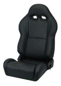 Corbeau VX2000 Black Leather Seat